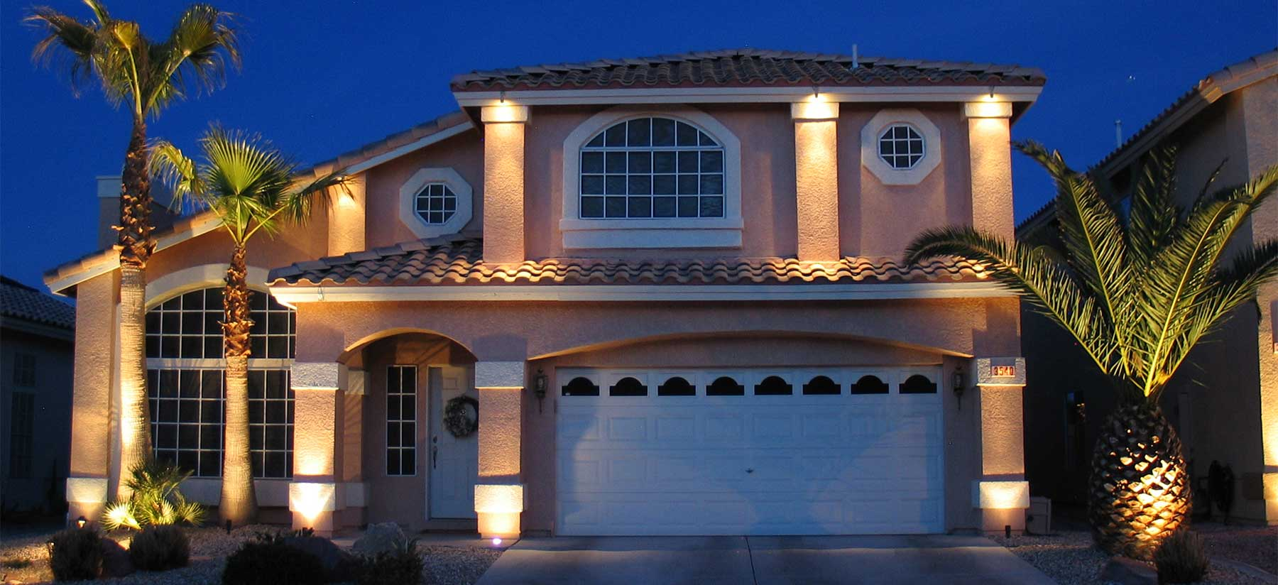 Las Vegas Landscape Lighting, Outdoor Patio Lighting | Twilight Designs - After