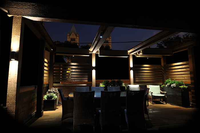 Patio and Courtyard Lighting Ideas